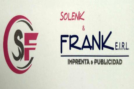 Solenk y Frank eirl. Imprenta y Publicidad